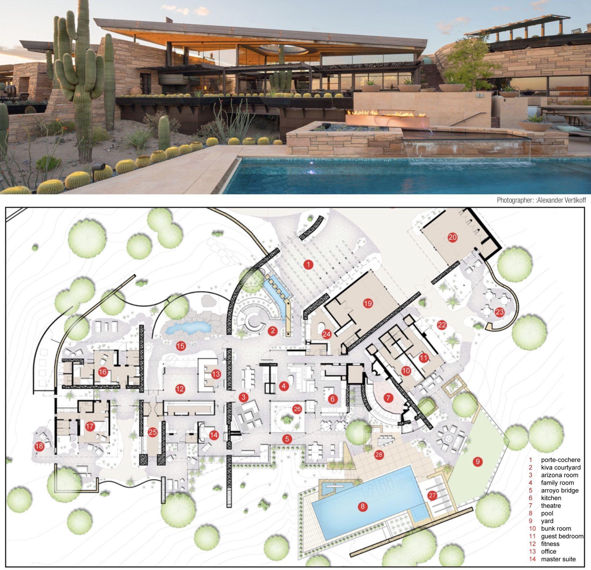 36+ Futuristic house floor plans trends