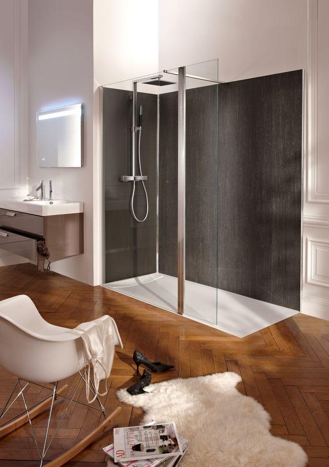 Douche à lu0027italienne  quel carrelage, revêtement au sol et au mur ?