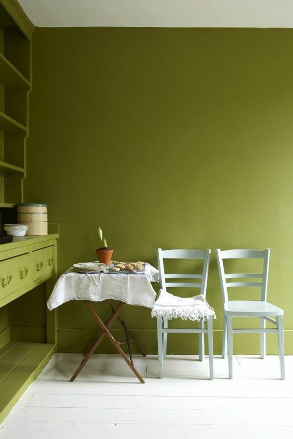 Wände Streichen Farbideen Esszimmer Ideen