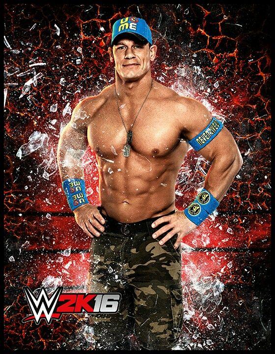 John Cena sur WWE 2K16 | John Cena | Wwe, John cena wwe ...