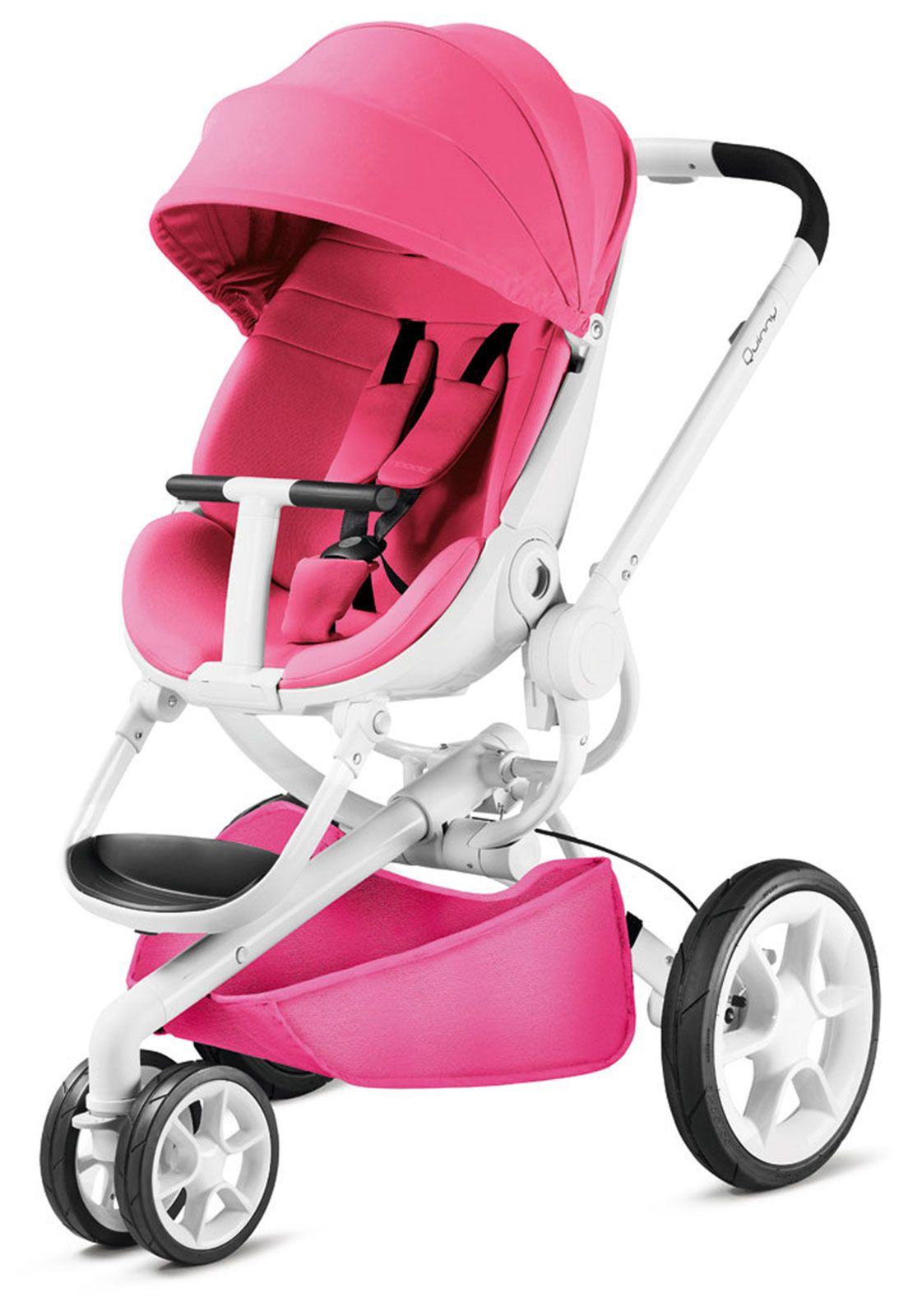 94c38c3b7 Carrinho De Bebê 3 Rodas Moodd Pink Passion Quinny