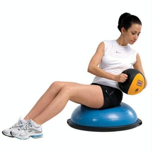 Stability Ball Russian Twist: Russian Twist Basic. Twist Side To Side With A Medicine