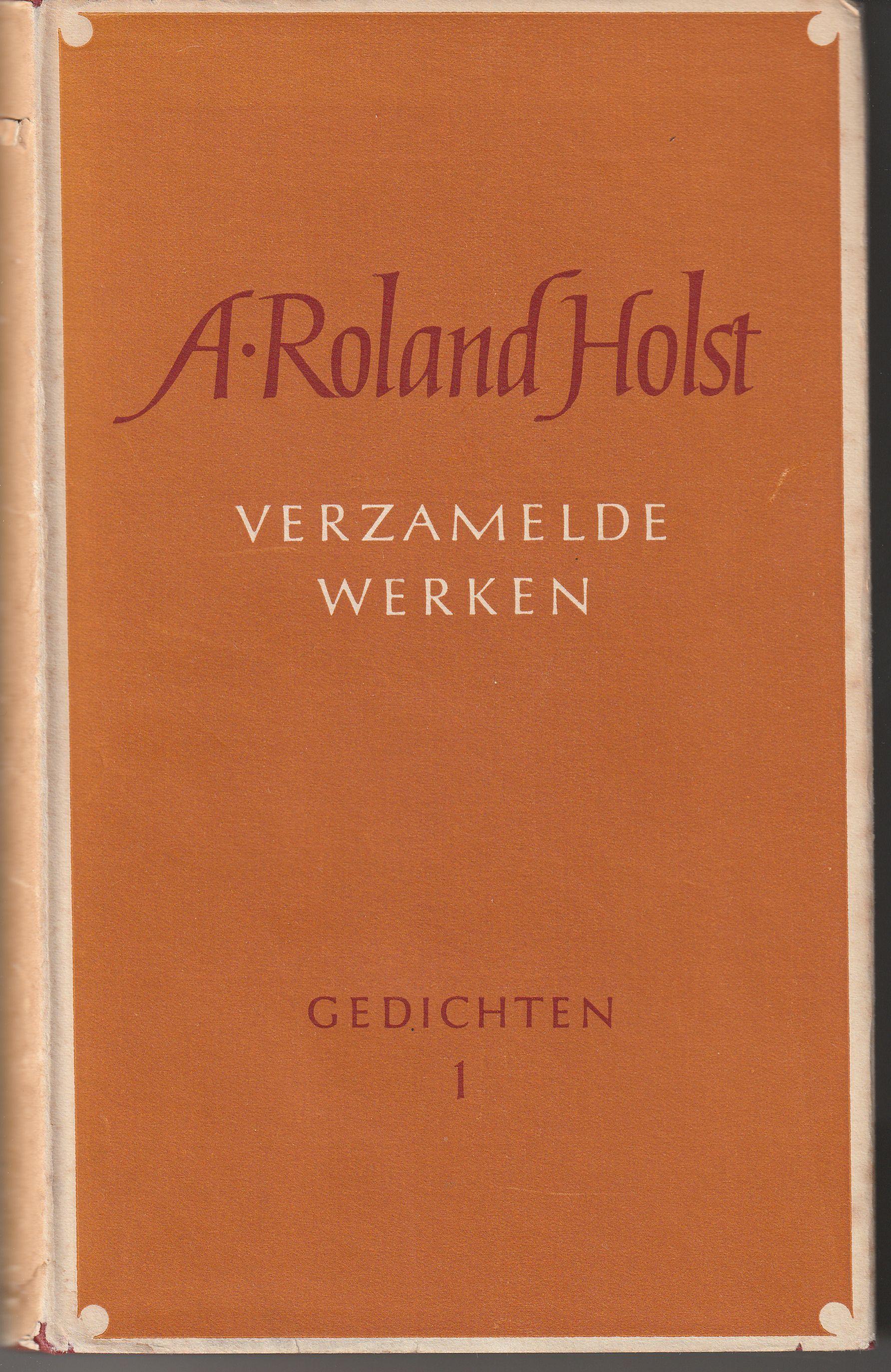 Omslag Ontwerp Helmut Salden A Roland Holst Verzamelde