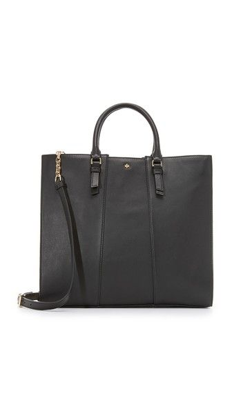 Tory Burch Cass Large Tote; Color: bark