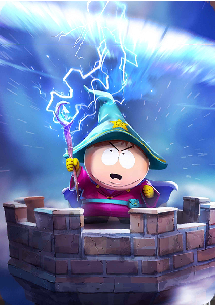 Grand Wizard Cartman Card In Phone Destroyer South Park South Park Funny South Park Game