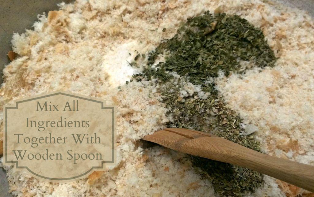 Seasoned Italian Bread Crumbs Recipe