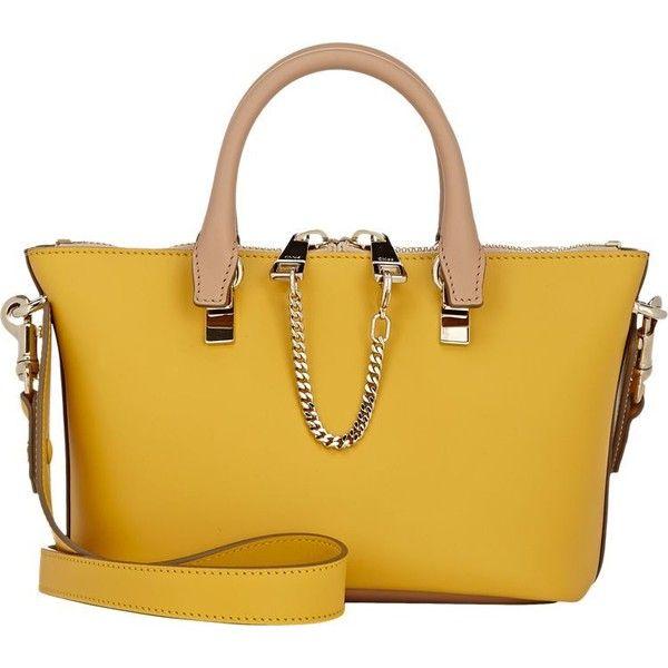 Chloé Baylee Mini Shoulder Bag (¥123,865) ❤ liked on Polyvore