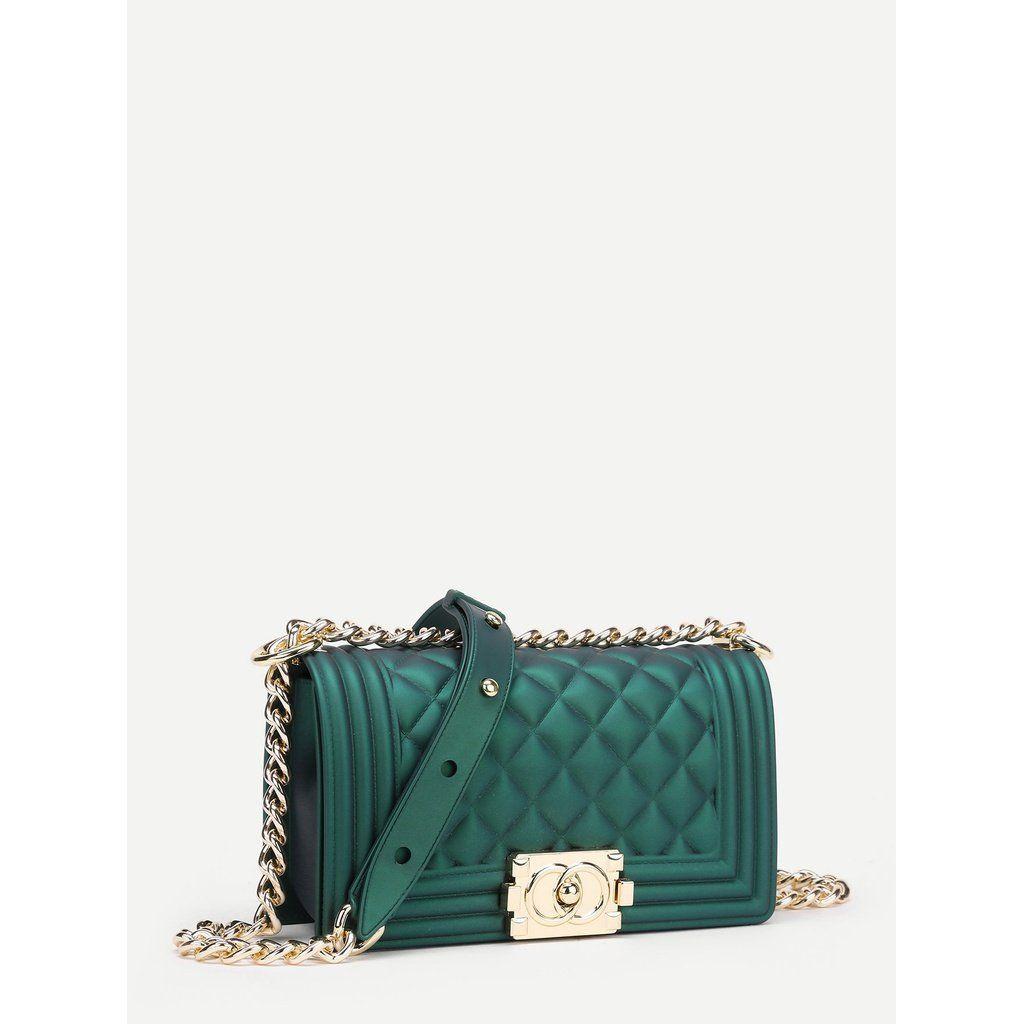 Metal Lock Quilted Crossbody Chain Bag Lv Louisvuitton Uae Tas Girls Fashionista Dubai Chanel Chain Bags Bags Chanel Boy Bag