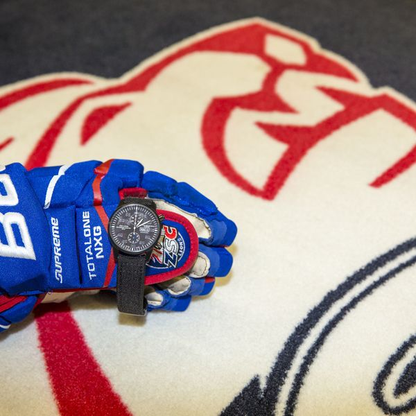 ZSC Lions and Maurice de Mauriac watches.