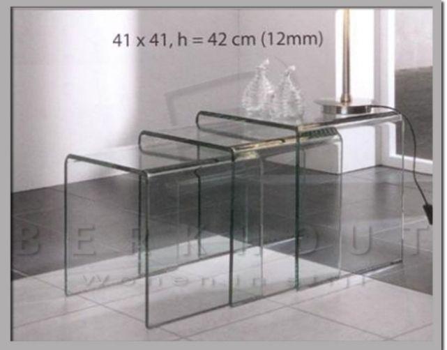 Glazen Meubels ~ Glas meubel.nl set baboushka tafeltjes woninginrichting