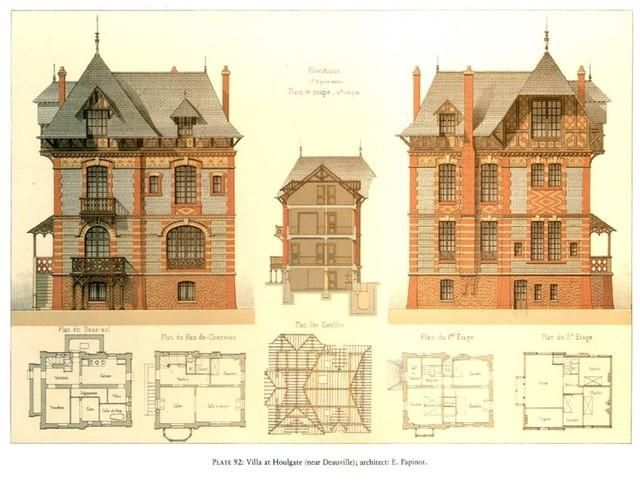 victorian house plan cool architecture design pinterest dessin architecture maisons. Black Bedroom Furniture Sets. Home Design Ideas
