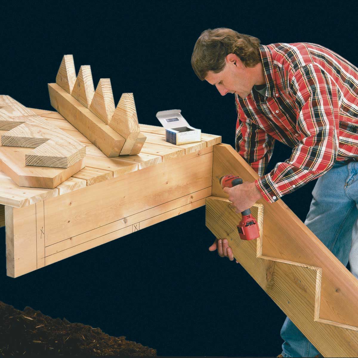 How To Build Deck Stairs In