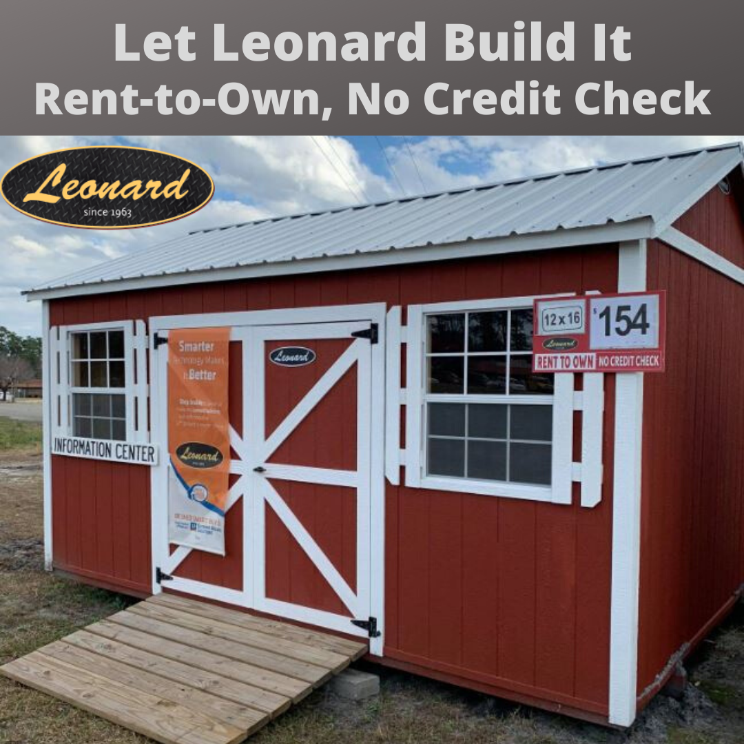 Leonard Has A Very Generous Rent To Own Building And