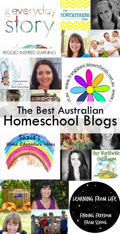 THE Australian Homeschool Blog List Homeschool blogs