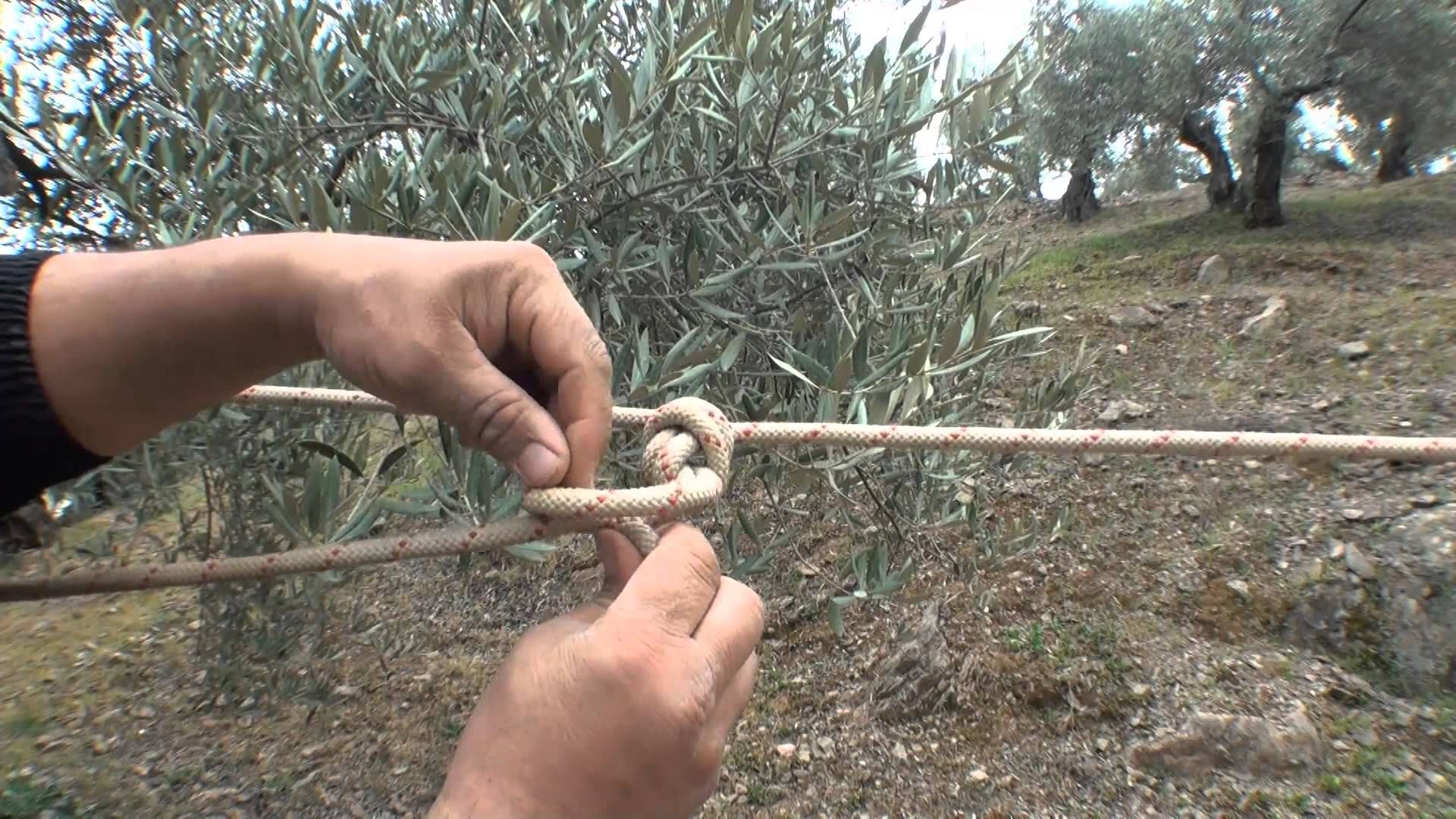 Como tensar una cuerda de un extremo a otro