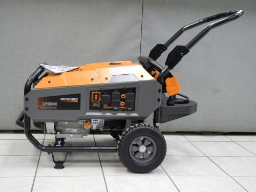 The Generac Lp5500 Is Now In Stock We Love Propane Powered Generators Because Most Generators Sit Aroun Propane Powered Generator Portable Generator Propane