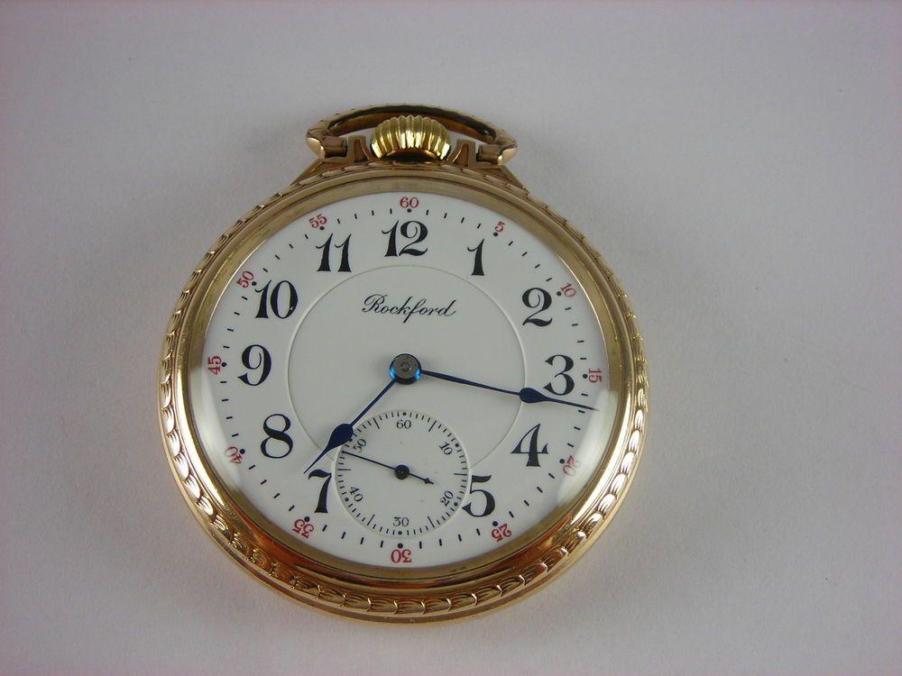 1a8e01fe715f5 Details about Antique Hamilton 18s, 940 21 jewel Rail Road pocket ...
