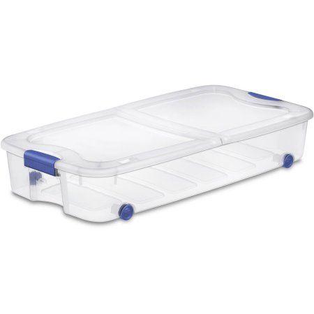 Home | Plastic storage bins, Sterilite, Under bed storage