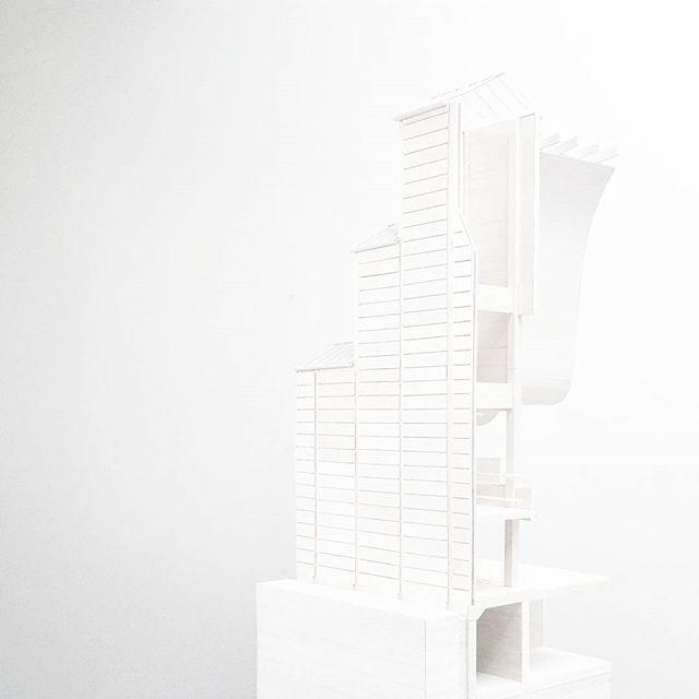 Bagsværd Church by Jørn Utzon | 1:20 Study Model @echo1a1ia @marcusnaoum @stephkapetanellis 📷: @kvanyoung