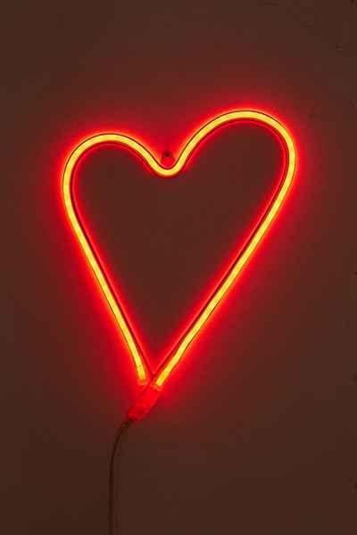 LED Heart Sign