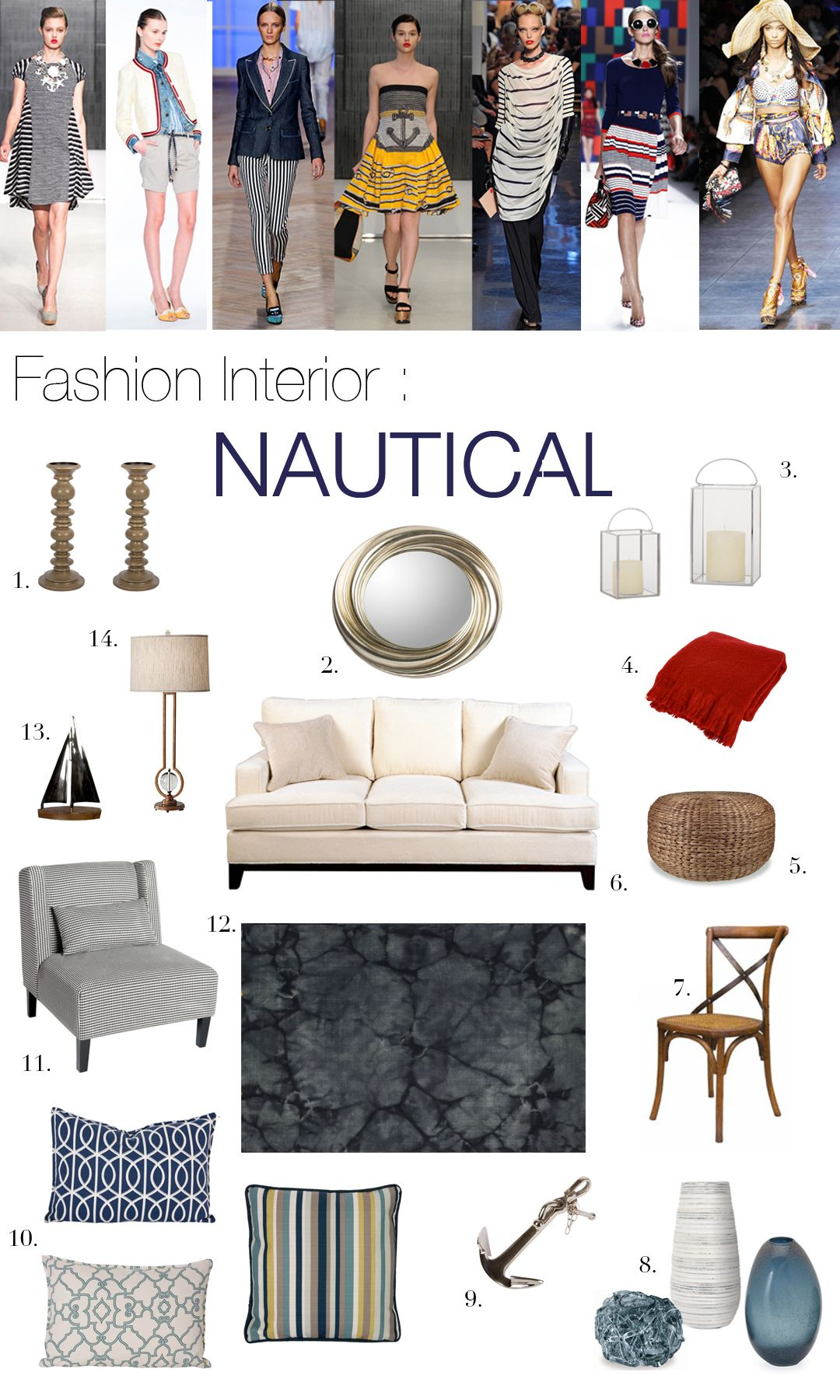 Fashion Interior : Nautical | Benjamin moore paint colours, Benjamin ...