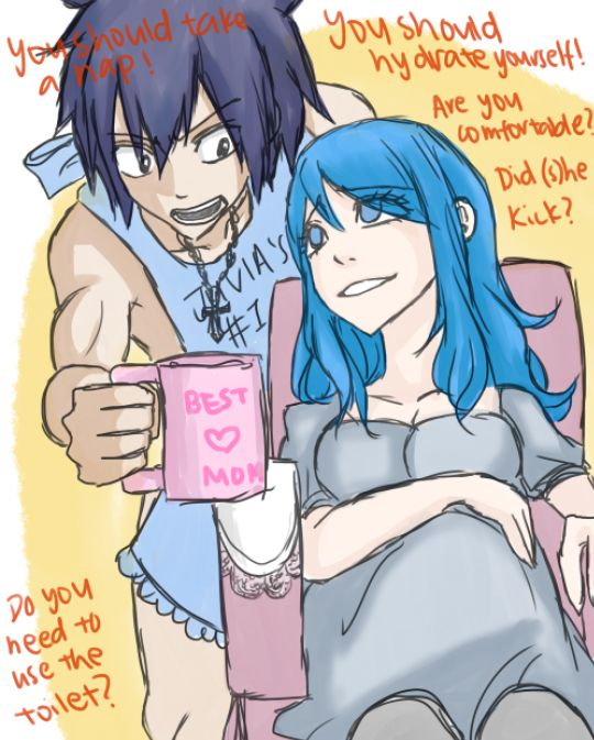 Good Pregnant anime girl couple right! like