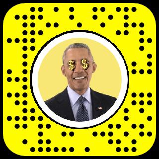 Dollar Signs Snapchat Lens Filter