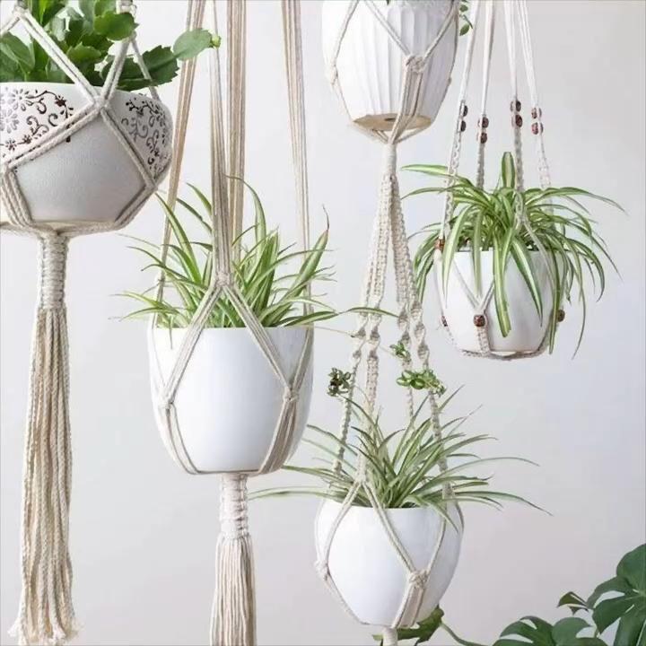 Photo of 🖐️Handmade Macramé Plant Hangers 🖐️😍
