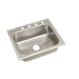 Drop In Laundry Room Sink.Elkay 25 In X 22 In Satin Single Basin Stainless Steel Drop