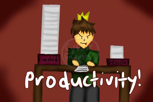 Productivity, am I right? by CyberFurry10