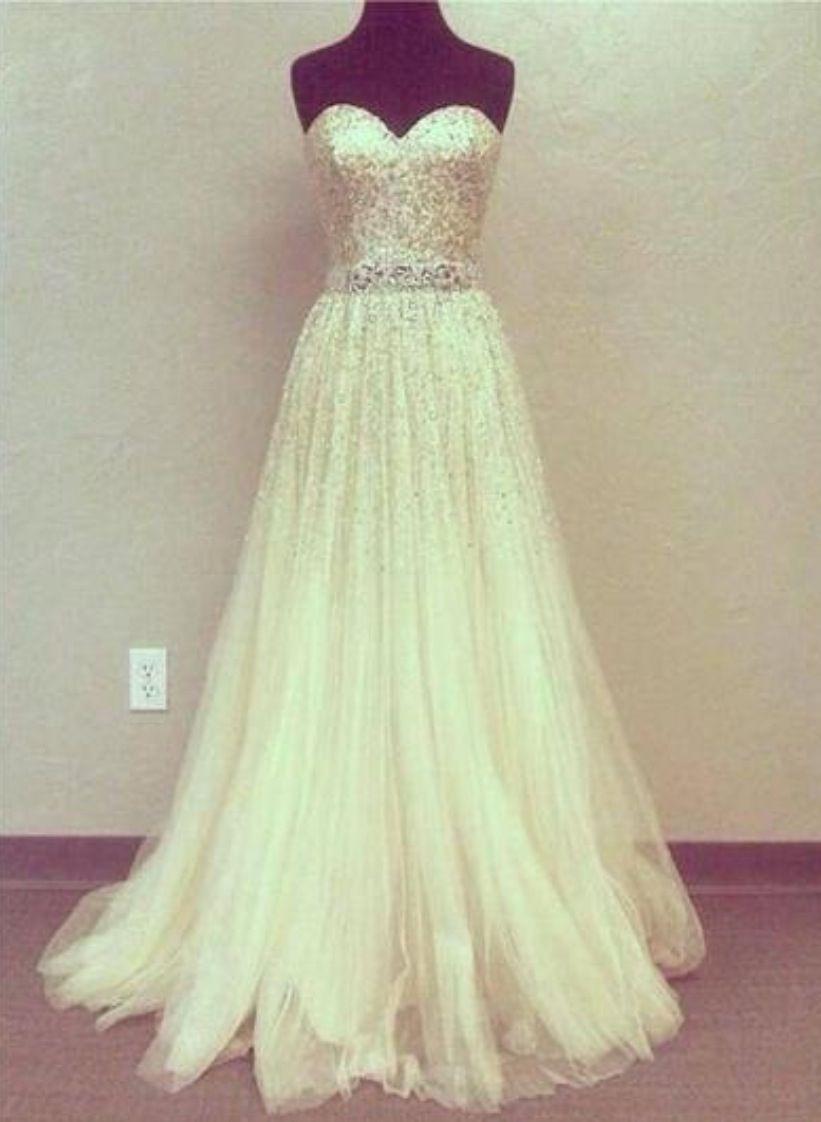 #white #dress #glitters