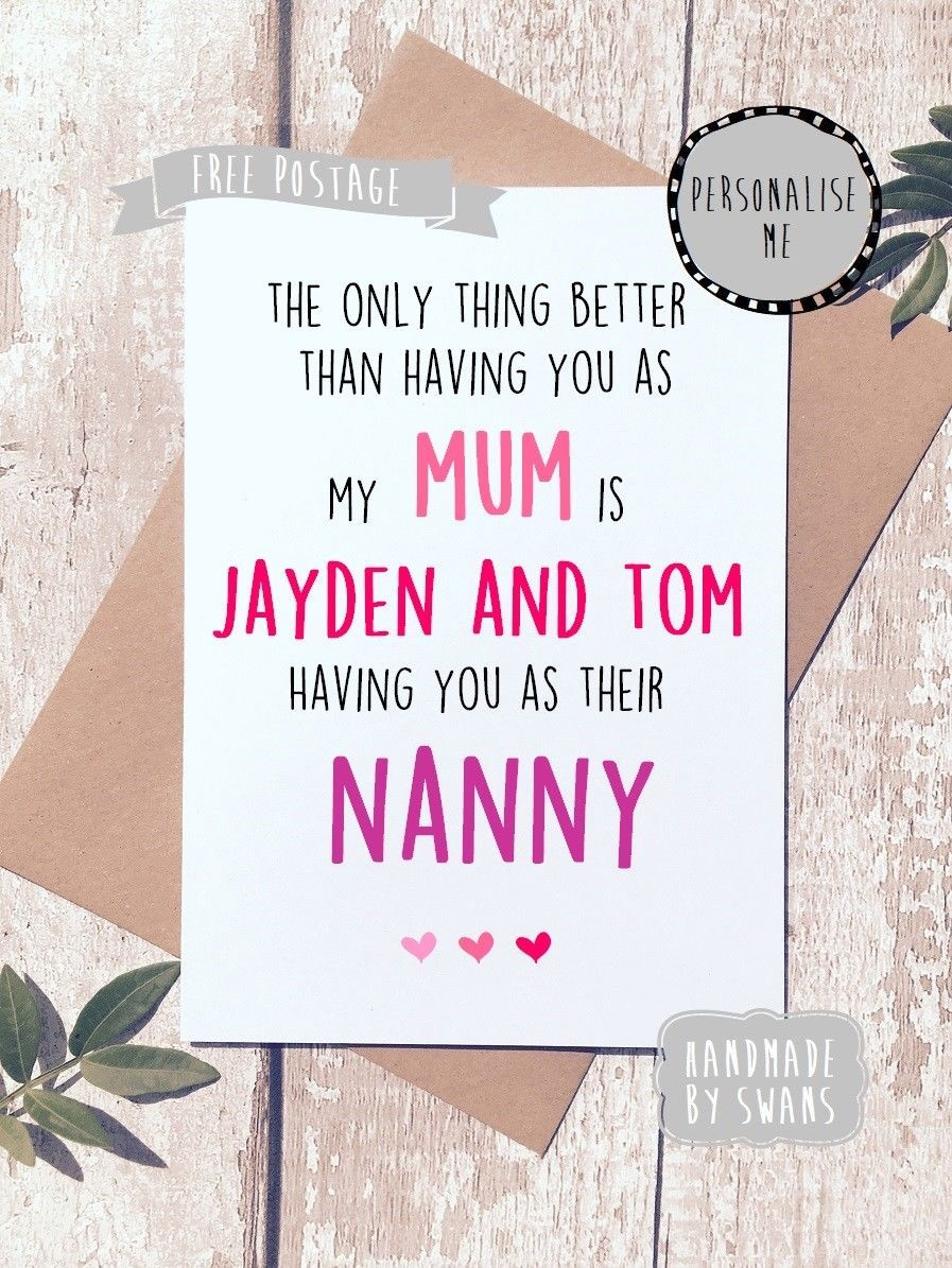 gbp birthday card for mum card for nanny birthday grandma