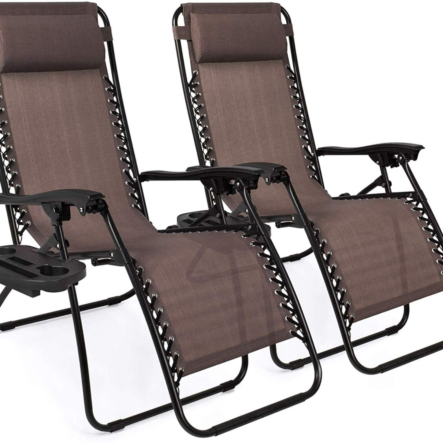 Best Choice Products Set of 2 Adjustable Zero Gravity