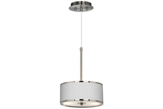Steel With Diamonds Shade Energy Efficient Pendant Light Euro Style Lighting