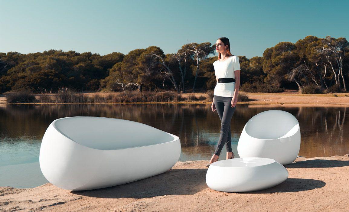 Vondom mobiliario exterior e interior maceteros for Sofa exterior jardin