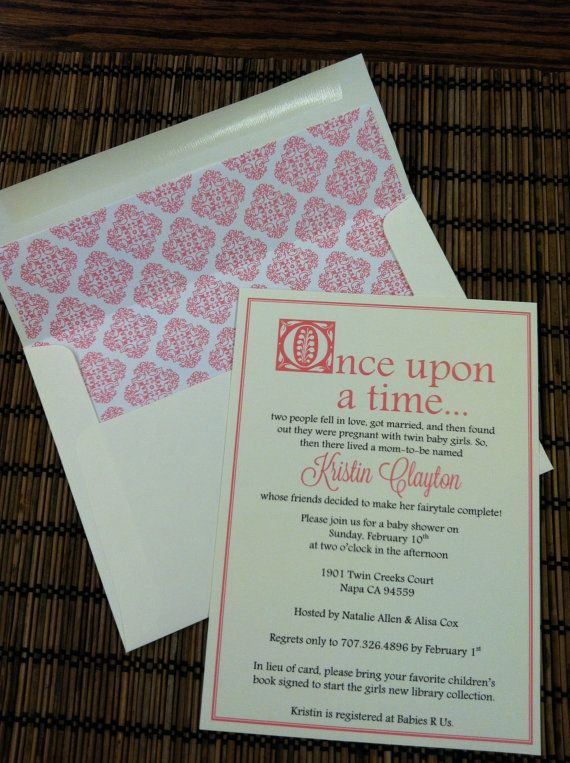 baby shower book shower once upon a time baby shower invitations