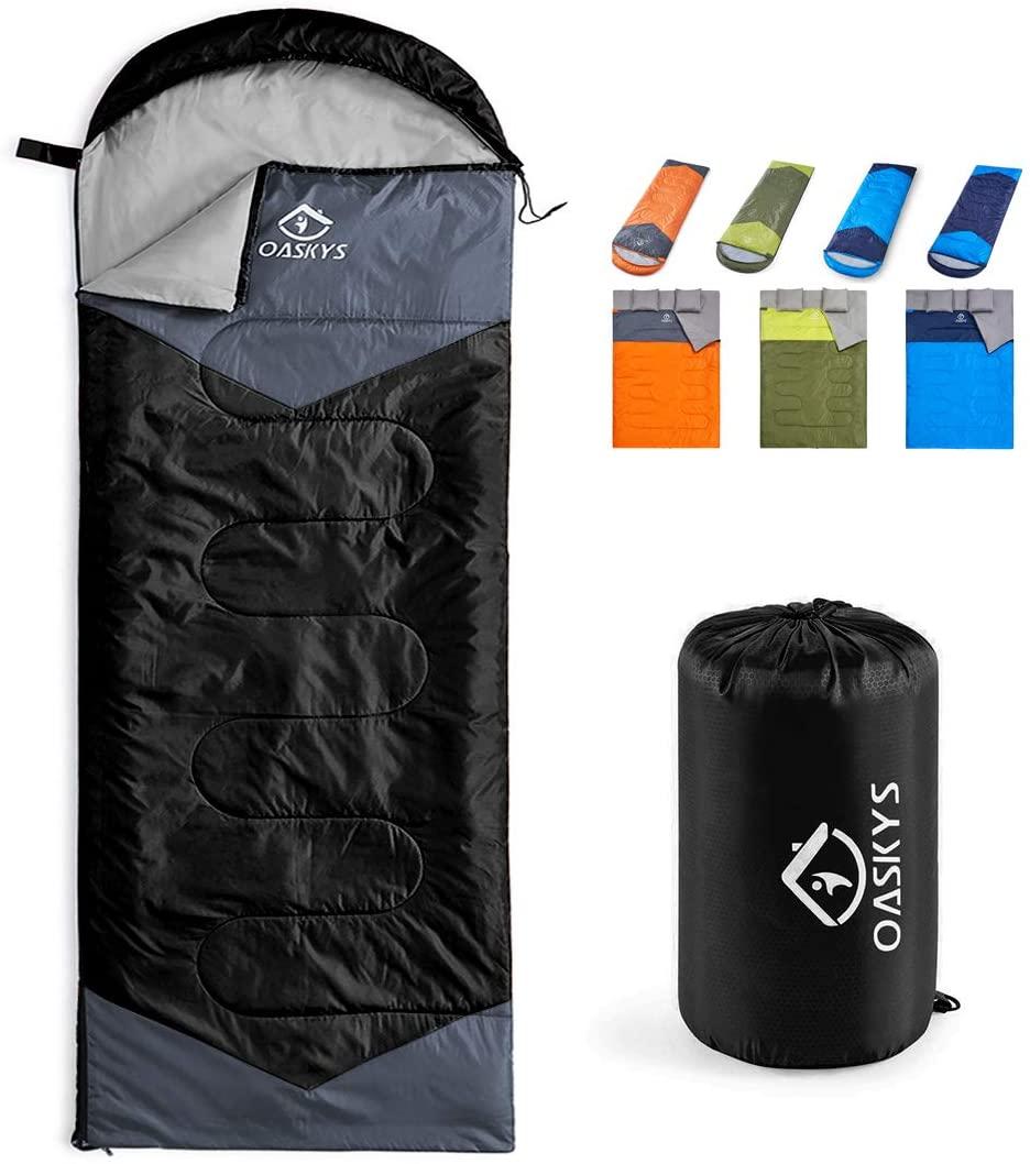 Oaskys Camping Sleeping Bag Kids Camping Gear Sleeping Bags Camping Best Sleeping Bag