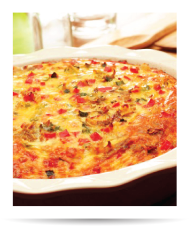 This vegetable and egg recipe is an easy-to-make weekend dish to serve to the whole family or when feeding a crowd.