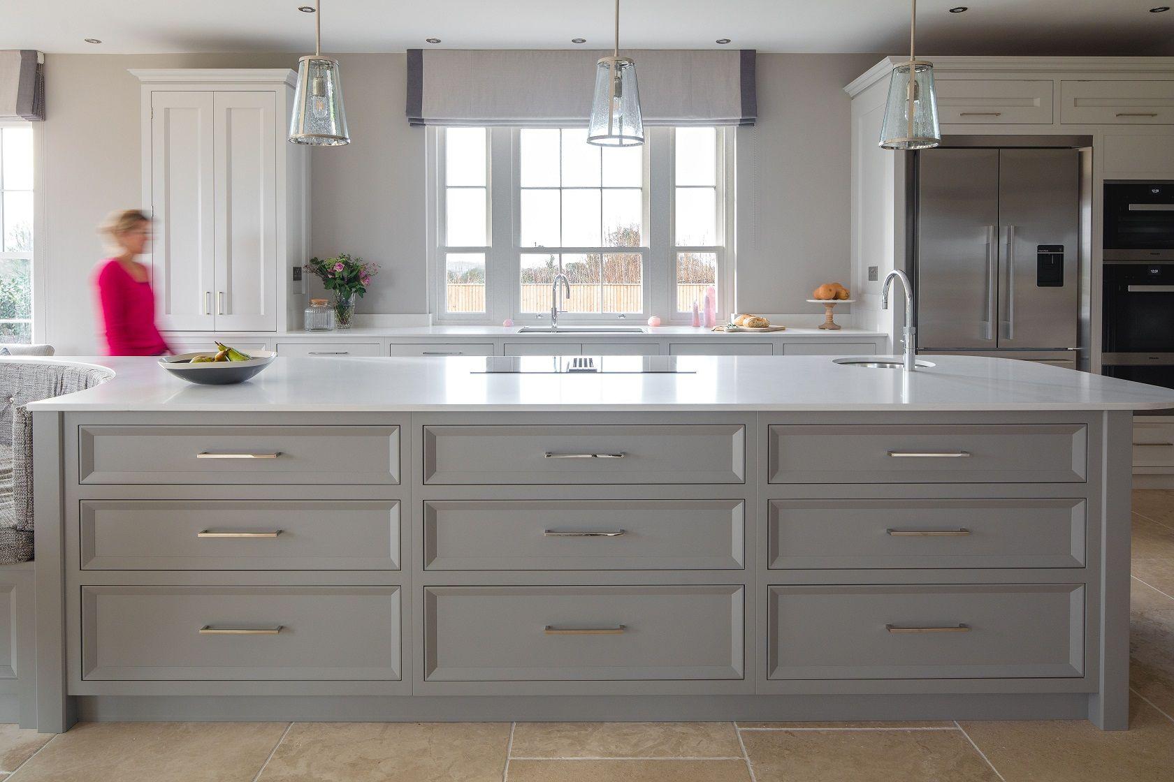 Plenty of storage in this island...   Kitchen design, Bespoke ...