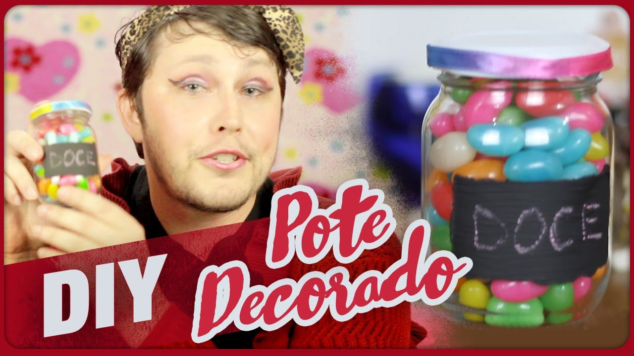 Pote Decorado ➼ Namorado Narrando o =DiY