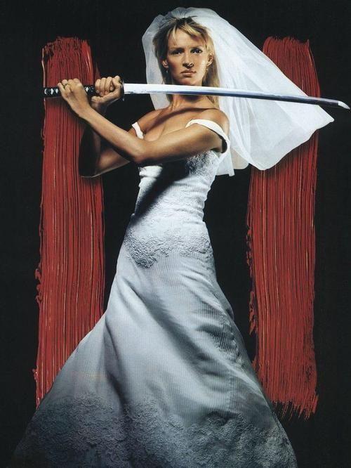 "Uma Thurman as the Bride, ""Kill Bill: Vol. 1"" (2003)"