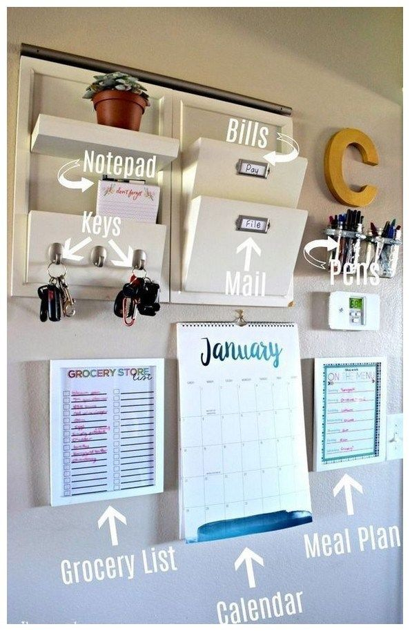 49 parent command center ideas for busy moms 4 is part of Home command center - 49 parent command center ideas for busy moms 4 Related