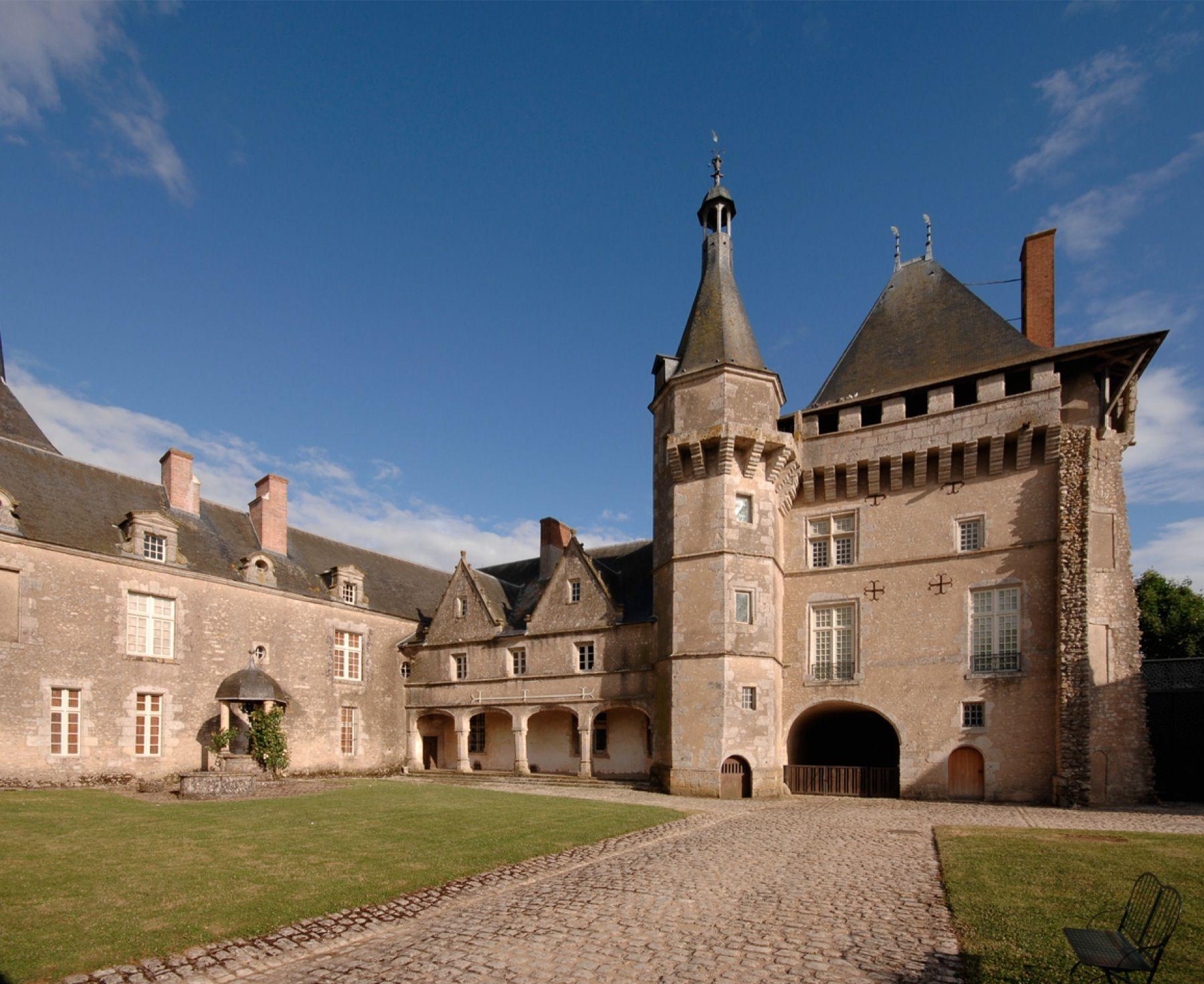Château de Talcy © Centre des Monuments Nationaux Paris P.Berthé