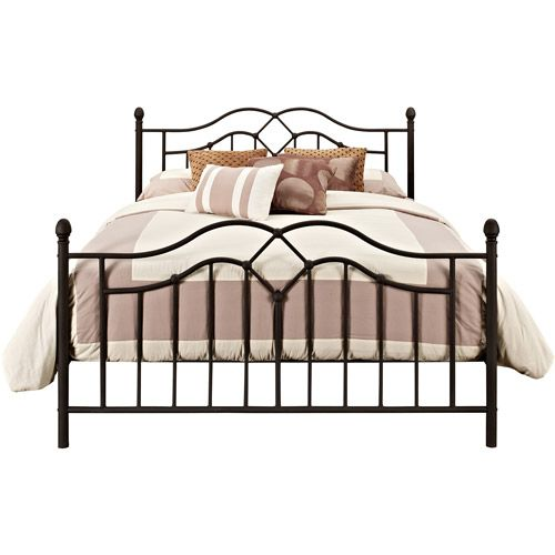 DHP Tokyo Modern Metal Bed Frame, Bronze, Multiple Sizes | Metal ...