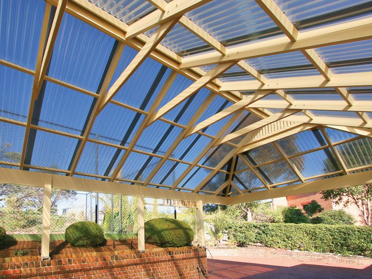 Palram Australia Residential Pergola Projects Corrugated Roofing Pergola Roof Panels