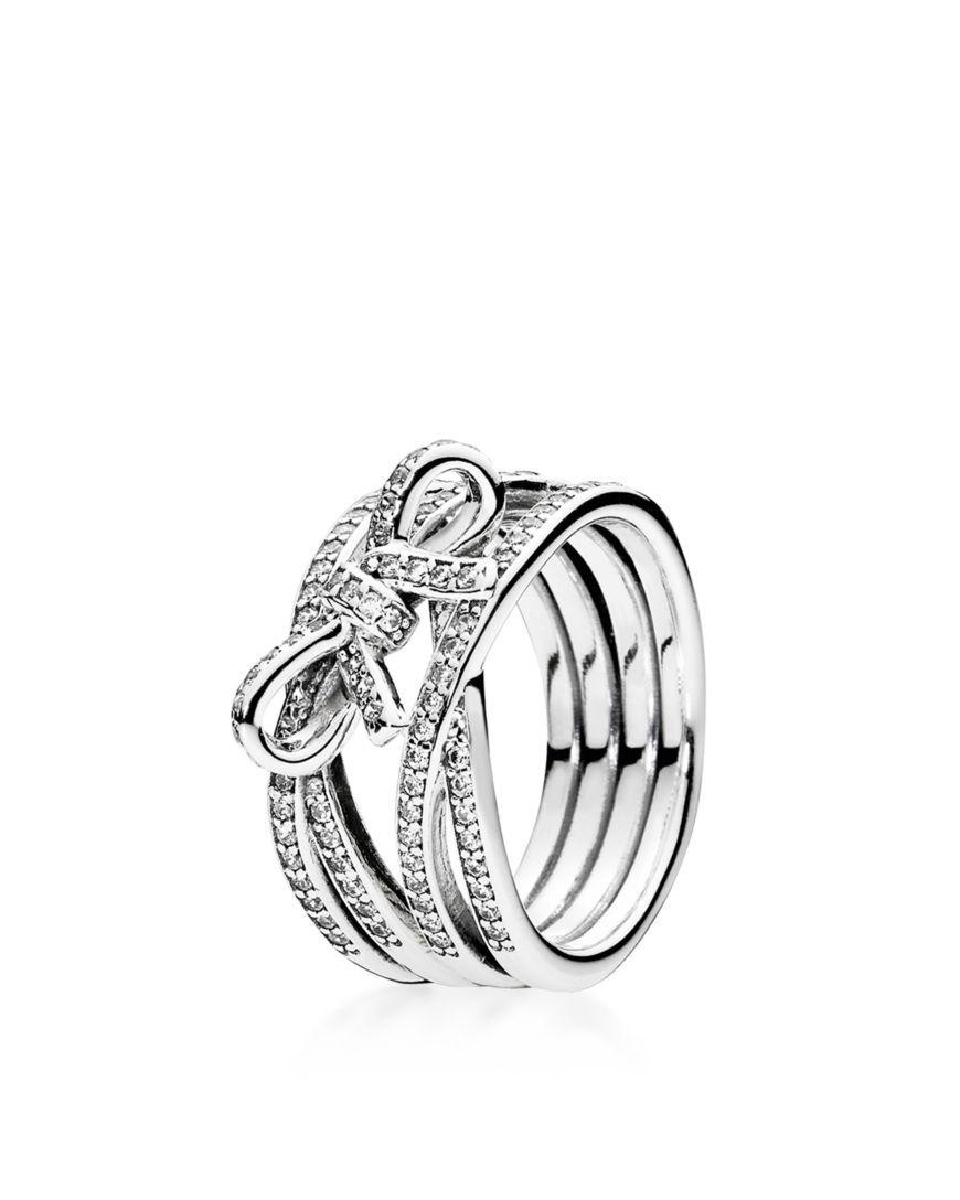 2e6de1ad2 ... buy pandora ring sterling silver cubic zirconia delicate sentiments  8c21c 6c4ab