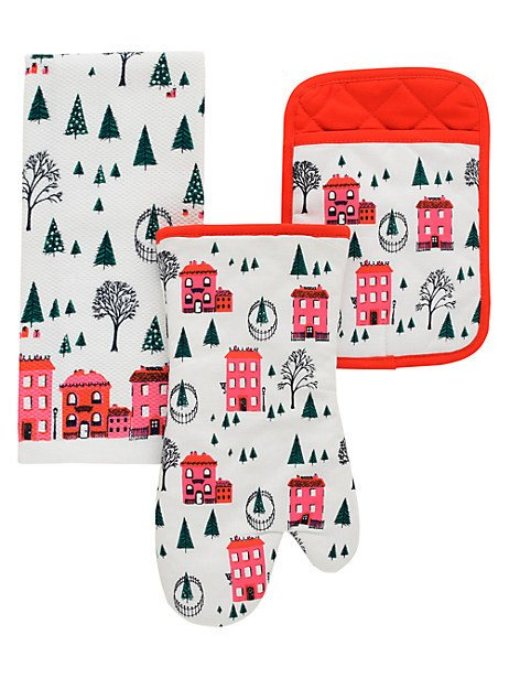 Kate Spade Christmas Cards 2019.Kate Spade Holiday Village 3 Piece Set White Products In