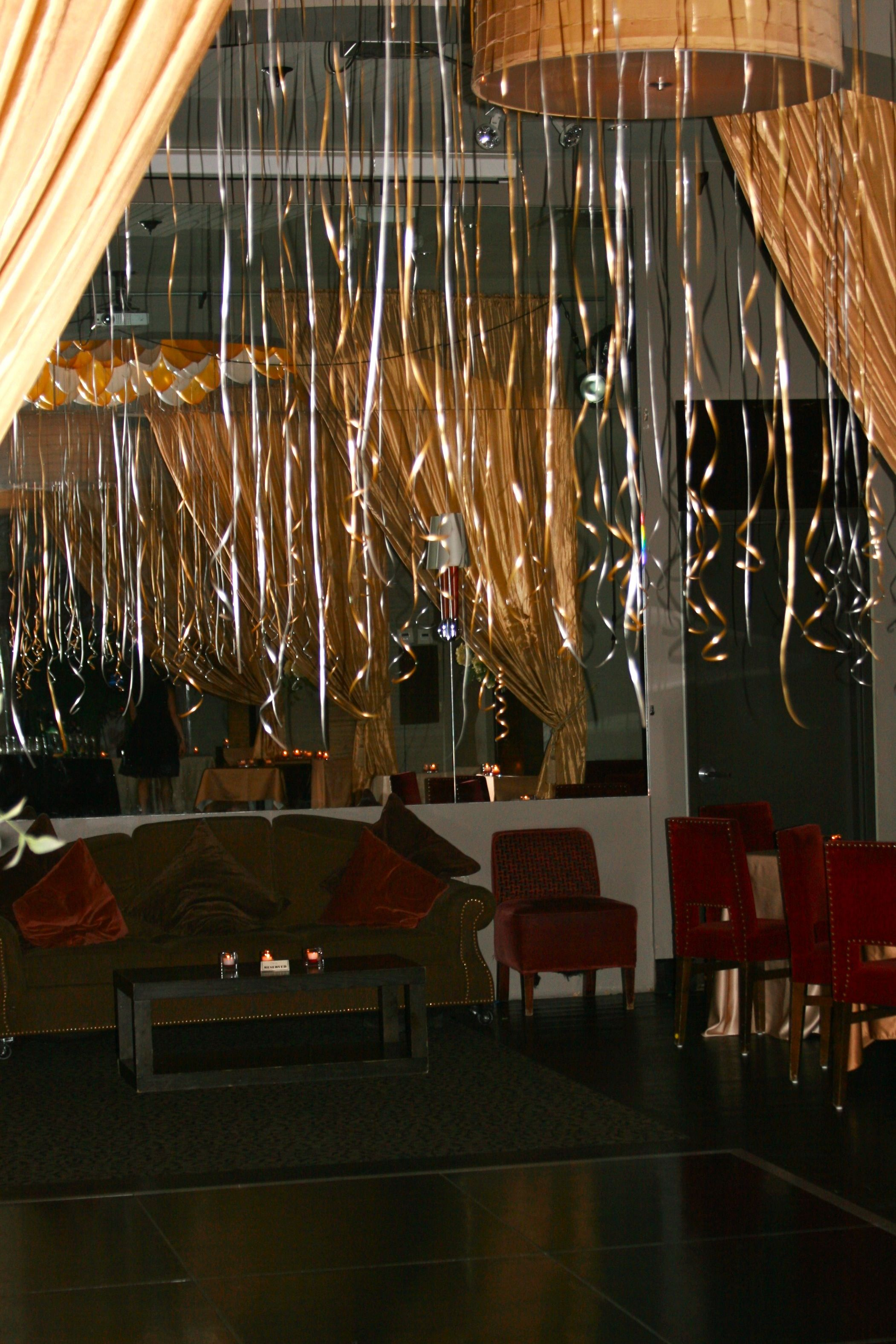 Dramatic 30th Birthday Party Decor Event Was At Opia Restaurant In NYC B Lee Events And Planners