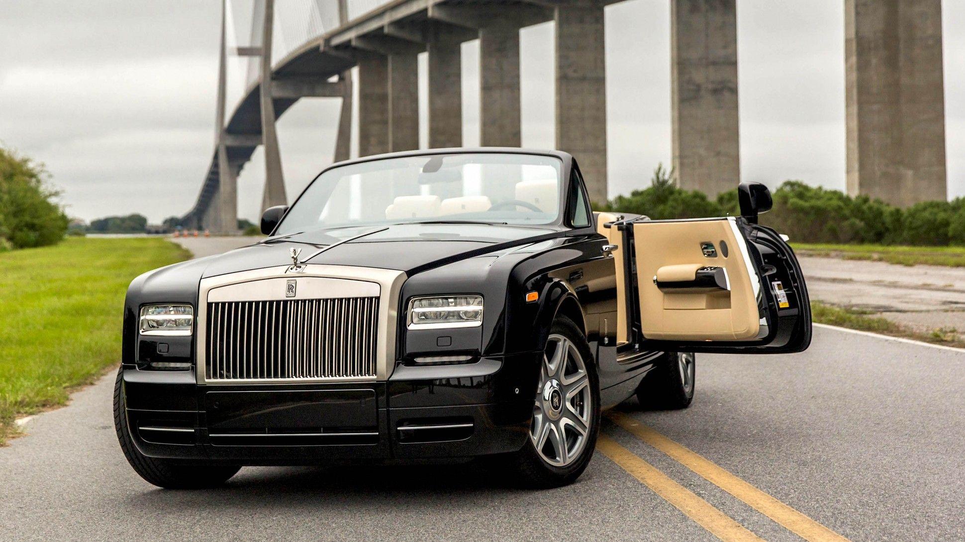 Test driving the 2015 rolls royce phantom drophead coupe