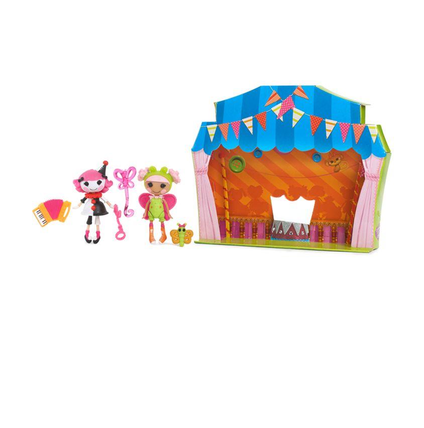 Mini Lalaloopsy Fun House Lalaloopsy dolls, Lalaloopsy